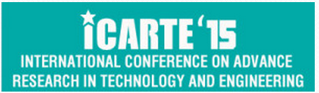 International Conference on Advance Research in Engineering and Technology - ICARTE'15, Sri Ranganathar Institute of Engineering and Technology, March 28 2015, Coimbatore, Tamil Nadu