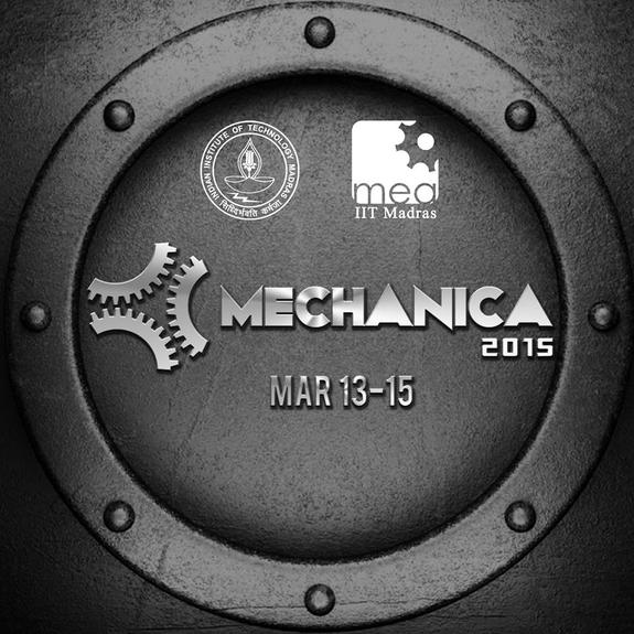 Mechanica 2015, Indian Institute of Technology Madras, March 13-15 2015, Chennai, Tamil Nadu