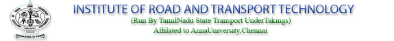 Zinnia 2k15, Institute of Road and Transport Technology, March 18 2015, Erode, Tamil Nadu