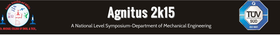 Agnitus 2k15, St Michael College of  Engineering and Technology, April 11 2015, Kalayarkoil, Tamil Nadu