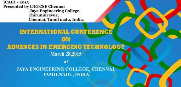International Conference on Advances in Emerging Technology