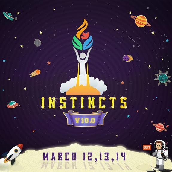Instincts 10.0, SSN College of Engineering, March 12-14 2015, Chennai, Tamil Nadu