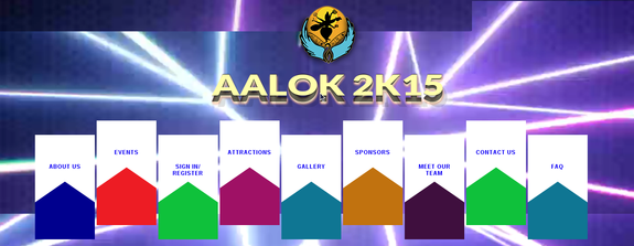 AALOK 2K15, Gayatri Vidya Parishad College of Engineering, April 3-4 2015, Visakhapatnam, Andhra Pradesh
