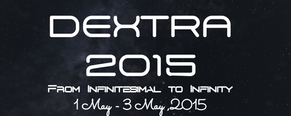 DEXTRA 2K15, Jaypee University of Engineering and Technology, May 1-3 2015, Guna, Madhya Pradesh