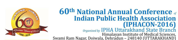 IPHACON 2016, Himalayan institute of medical Sciences, March 4-6 2016, Dehradun, Uttarakhand