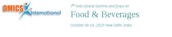 7th Indo-Global Summit and Expo on Food And Beverages, Omics International, October 8-10 2015, New Delhi, Delhi