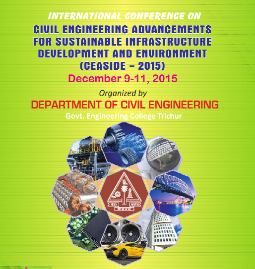 CEASIDE 2015, Government Engineering College, December 9-11 2015, Thrissur, Kerala
