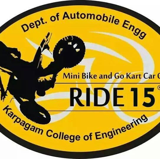 RIDE 2015, Karpagam College of Engineering, September 11 2015, Coimbatore, Tamil Nadu
