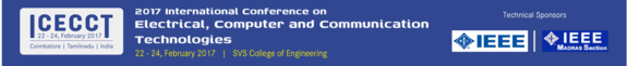International Conference on Electrical, Computer and Communication Technologies  2017, SVS College of Engineering, February 22-24 2017, Coimbatore, Tamil Nadu