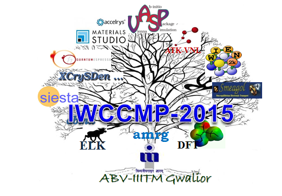 IWCCMP-2015, ABV Indian Institute of Information Technology and Management. October 18-22 2015, Gwalior, Madhya Pradesh