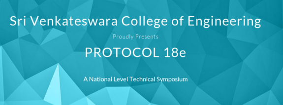 Protocol 18e, Sri Venkateswara College of Engineering, September 4 2015, Sriperumbudur, Tamil Nadu