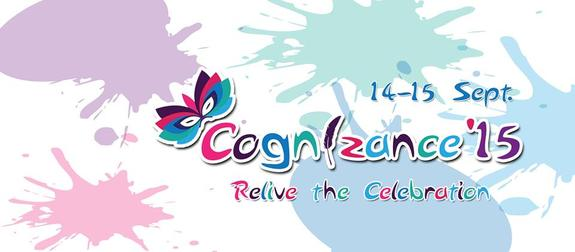 Cognizance 15,  Chandubhai S Patel Institute of Technology, September 14-15 2015, Anand, Gujarat
