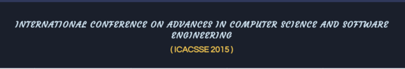 ICACSSE 2015, St Anns College of Engineering And Technology, October 30 2015, Prakasam, Andhra Pradesh