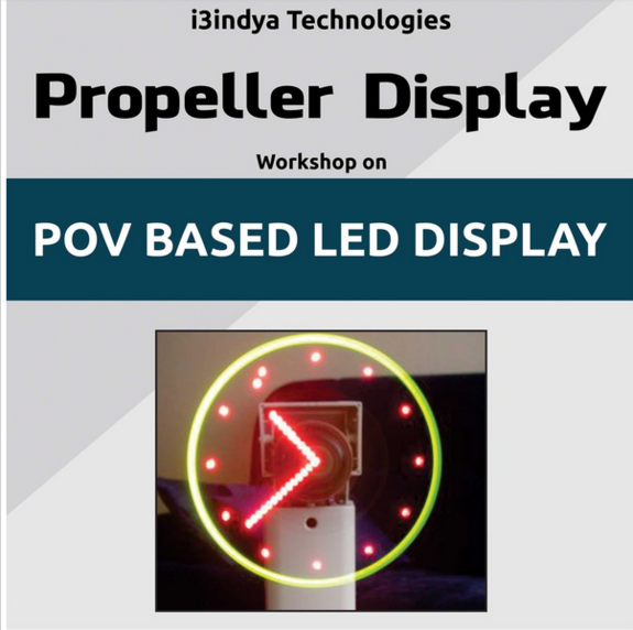 Attend Propeller Display Worskhop On POV Based Led Display, Mar Athanasius College of Engineering, September 11-12 2015, Kothamangalam, Kerala