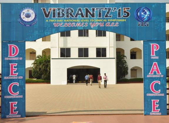 Vibrantz 2K15, Paavai Engineering College, September 14-15 2015, Namakkal, Tamil Nadu