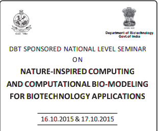 NICCBBA15, Kongu Engineering College, October 16-17 2015, Erode, Tamil Nadu