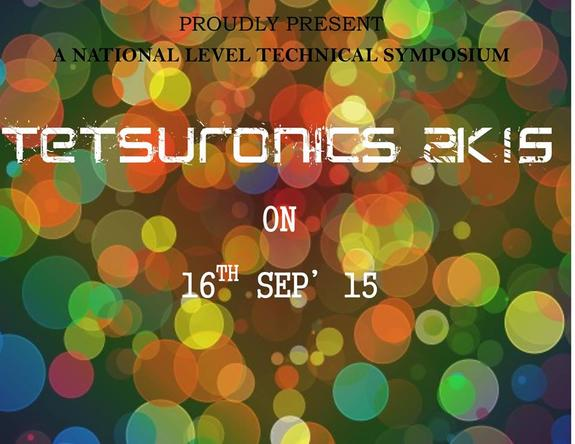 Testsuronics 15, Paavai Engineering College, September 16 2015, Namakkal, Tamil Nadu
