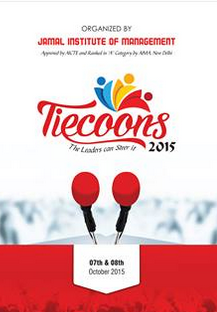 Tiecoons 2015, Jamal Institute of Management, October 7-8 2015, Trichy, Tamil Nadu