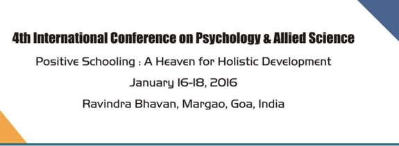 ICPAS 2016, Carmel College For Women, January 16-18 2016, Goa, Goa