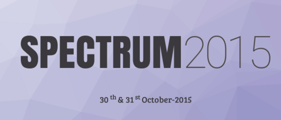 Spectrum 2015, Sinhgad Management Institutes, October 30-31 2015, Pune, Maharashtra