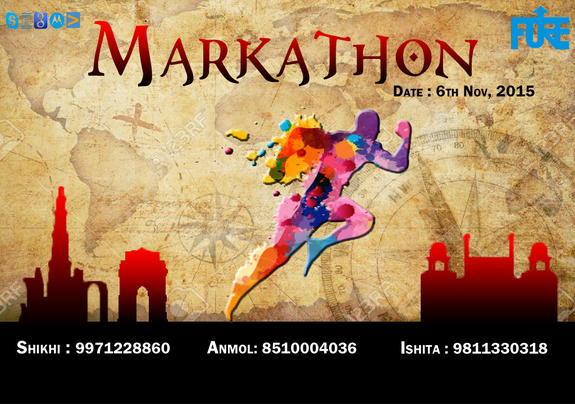 Markathon 2015, Fore School of Management, November 6 2015, New Delhi, Delhi
