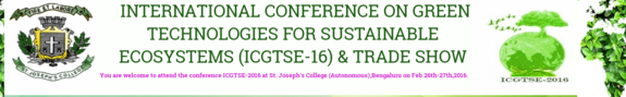 ICGTSE 16 & Trade Show, St. Josephs College, February 26-27 2016, Bangalore, Karnatka