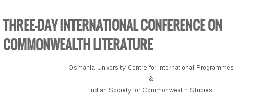 ICCL 2015, Osmania University, November 26-28 2015, Hyderabad, Telangana