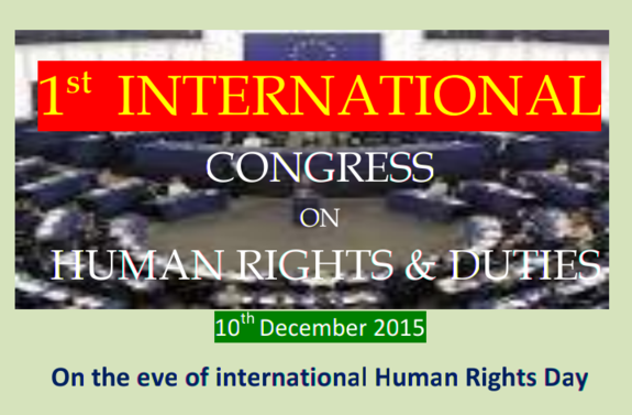 1st Indian Assembly of Human Rights & Duties, Yadam Institute of Research, December 10 2015, Berhampur, Odisha