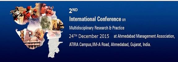 2ICMRP 2015, Ahmedabad Management Association, December 24 2015, Ahmedabad, Gujarat