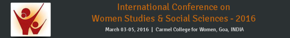 ICWS 2016, Carmel College for Women, March 3-5 2016, Goa, Goa