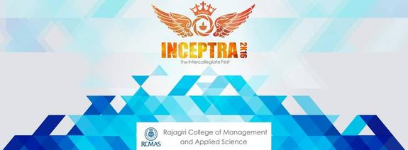 Inceptra 2016, Rajagiri College of Management & Applied Sciences, January 16 2016, Kochi, Kerala