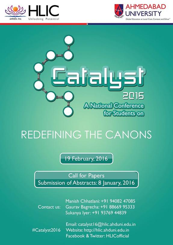 Catalyst 2016, HL Institute of Commerce, February 19 2016, Ahmedabad, Gujarat