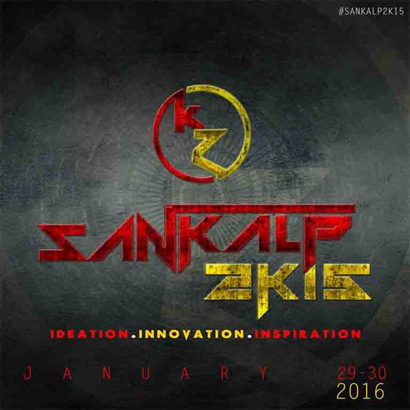 Sankalp 2016, National Institute of Science & Technology, Jan 29-30, 2016, Berhampur, Odisha