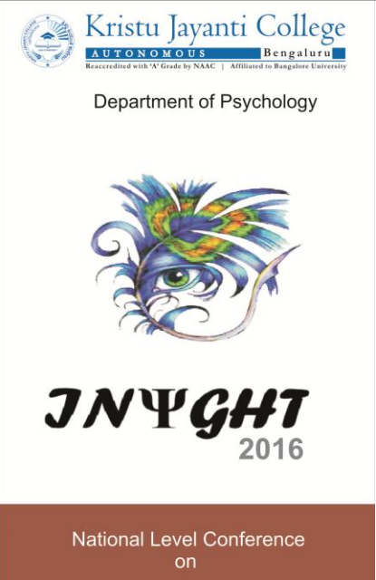 Insight-2016, Kristu Jayanti College, Feb 02-03, 2016, Bangalore, Karnataka