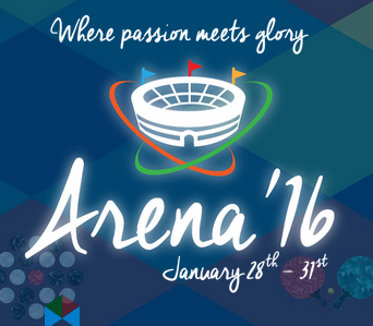 Arena 16, BITS Pilani Hyderabad Campus, January 28-31 2016, Hyderabad, Telangana