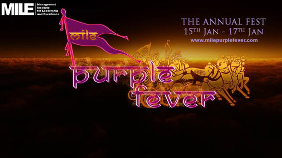 Purple Fever 2016, Management Institute for Leadership and Excellence (MILE), Jan 15-17, 2016, Pune, Maharashtra