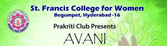 Avani 2016, St. Francis College for women, Jan 22 2016, Hyderabad, Telangana