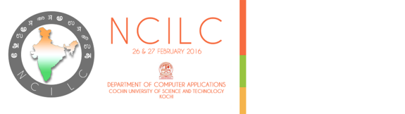 6th National Conference on Indian Language Computing (NCILC-2016), Cochin University of Science and Technology, Feb 26-27, 2016, Kochi, Kerala