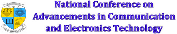 3rd National Conference on Advancements in Communication Computing & Electronics Technology (ACCET-2016), MES College of Engineering, Feb 11-12, 2016, Pune, Maharashtra