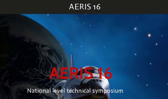 AERIS 16, Karpagam Academy of Higher Education, March 1-2 2016, Coimbatore, Tamil Nadu