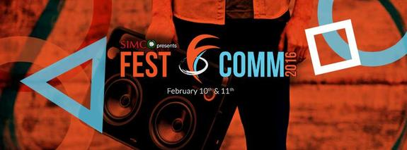 Fest-O-Comm 2016, Symbiosis Institute of Media & Communication, Feb 10-11 2016, Pune, Maharashtra