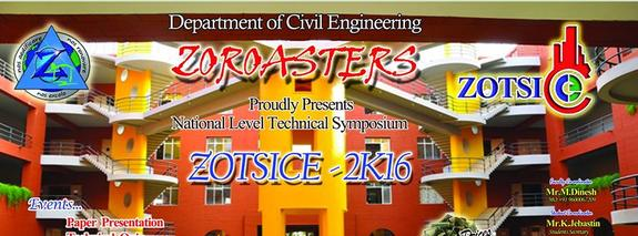 ZOTSICE 2K16, KTVR Knowledge Park for Engineering and Technology, March 3 2016, Coimbatore, Tamil Nadu