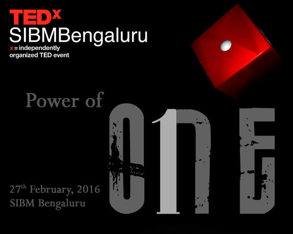 TEDx-2016, Symbiosis Institute of Business Management (SIBM), Feb 27 2016, Bangalore, Karnataka