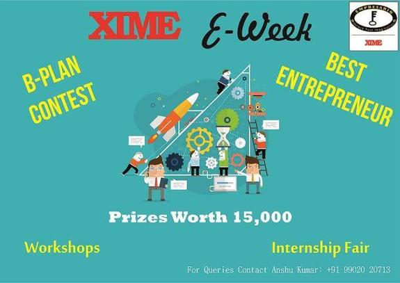 Best Entrepreneur Contest, Xavier Institute of Management & Entrepreneurship (XIME), Feb 27 2016, Bangalore, Karnataka