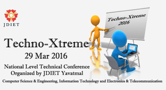 Techno-Xtreme 16, Jawaharlal Darda Institute of Engineering and Technology, March 28 2016, Yavatmal, Maharashtra