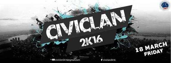 CIVICLAN 2K16, BS Abdur Rahman University, March 18 2016, Chennai, Tamil Nadu
