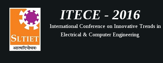 ITECE-2016, Shri Labhubhai Trivedi Institute of Engineering & Technology (SLTIET), Apr 22, 2016, Rajkot, Gujarat