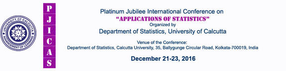 Platinum Jubilee International Conference on Applications of Statistics (PJICAS) 2016, University Of Calcutta, Kolkata, West Bengal