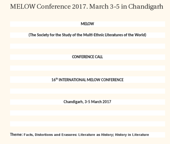 MELOW 2017, March 3-5 2017, Chandigarh, Punjab