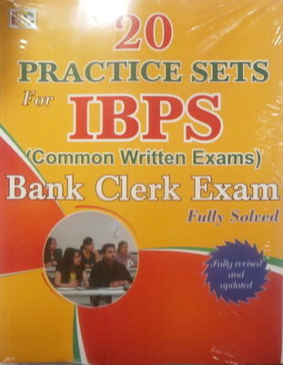 20PRACTIVE SETS FOR IBPS BANK CLERCK EXAM by BSC PUBLICATION